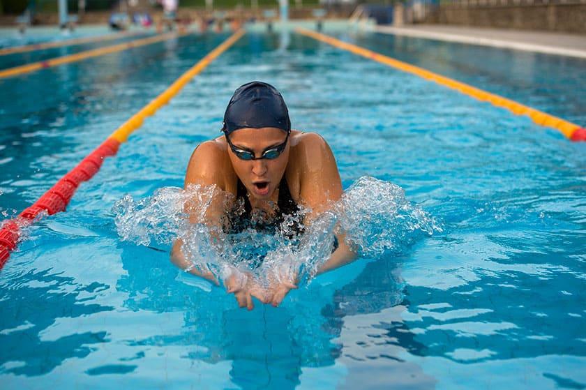 olympic swimmer breaststroke